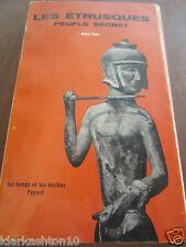 Alain Hus: les Etrusques, peuple secret/ Fayard Coll. Les Temps et les Destins