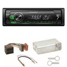 Pioneer MVH-S110UBG MP3 Autoradio Einbauset für Golf 4 Passat 3B Polo 6N 9N Lupo