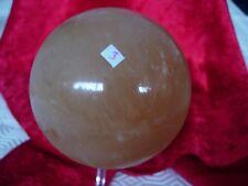 golden calcite sphere   Cj3