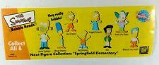 THE SIMPSONS Mini Bobble Heads / Set of 8 / Tomy Series #1