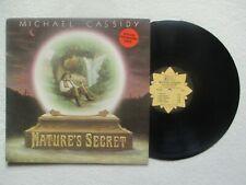 """LP 33T MICHAEL CASSIDY """"Nature's secret"""" PROMO GOLDEN LOTUS GLR-1 USA §"""