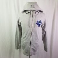 VANCOUVER CANUCKS NHL WOMEN'S FULL ZIP HOODED SWEATER JACKET JOHNNY CANUCK NICE