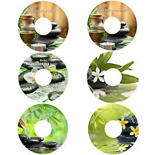 Deep Relaxation on 6 CDs Massage Spa Healing Stress Anxiety Relief Deep Sleep