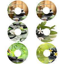 Deep Relaxation on 6 CDs Massage Spa Healing Stress Anxiety Relief Deep Sleep
