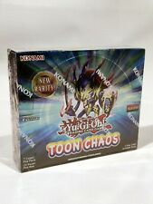 Yugioh Toon Chaos Booster Box (unlimited) Factory Sealed!