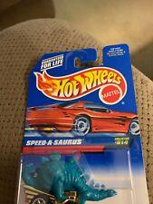 1997 Hot Wheels #814 Speed-A-Saurus Green Dinosaur *hw7