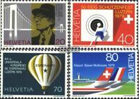 Schweiz 1150-1153 (kompl.Ausgabe) postfrisch 1979 Jahresereignisse