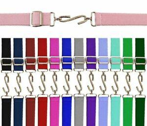 Kids Boys Girls Adjustable Snake Belt Ages 1-10 Elasticated Coloured Belt