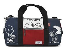 Boston Bag Nylon Snoopy 2way (navy/red) Japan