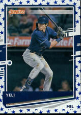 2020 Donruss Variations (Yeli) Independence Day #110 Christian Yelich Brewers