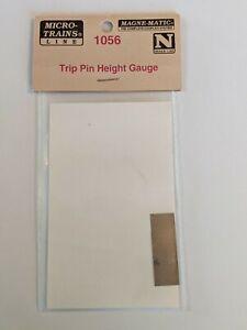Micro Train Lines N Scale # 1056 Trip Pin Height Gauge New In Package