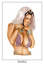 STORM X-MEN - Sexy Pin-Up Print by Lady Death Artisit ALEX MIRANDA