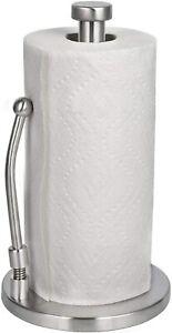 HEETA Housewares Kitchen Roll Holder Stainless Steel Paper Towel HolderOrganizer