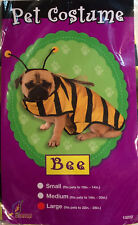 Yellow Bee Halloween Costume - Large Pet With Antenna & Wings - New With Tags