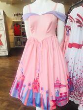 New Disney Dress Shop Parks Fantasyland Dress M Medium