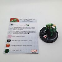 Heroclix Deadpool set Wolverine, Agent of Hydra #103 Limited Edition fig w/card!