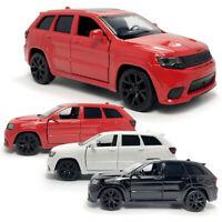 1:36 Jeep Grand Cherokee Trackhawk SUV Die Cast Modellauto Spielzeug Sammlung