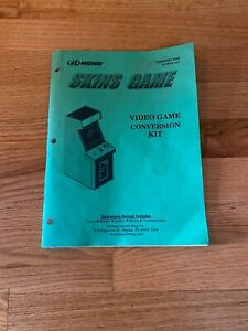 Skins Game Video Arcade Game Conversion Kit Instructions Manual, Midway 2000