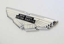 Aston Martin David Brown Wings Badge - Silver
