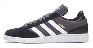 Adidas BUSENITZ Black White Gray Skate Sneaker Discounted (251)  Men's Shoes