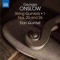 Onslow / Elan Quinte - Georges Onslow: String Quintets Vol 1 [New CD]