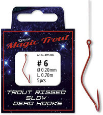 Quantum Magic Trout Rigged Slow Dead Vorfachhaken Gr.6 180cm