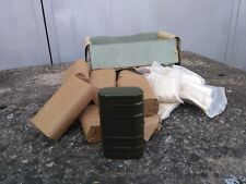 Lot x 5 USSR Army Surplus Decontamination Kit In Box Gas Attack Container 5 ps.