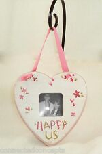 Valentine's Day Love Primitives by Kathy Wooden Photo Frame Ornament - Happy Us