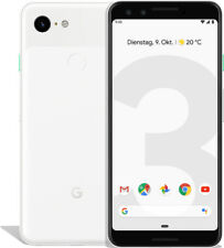 Google Pixel 3 64GB Clearly White, TOP Zustand