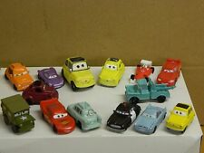 DISNEY CARS Assortment 1 of 14 Small Scale Vehicle Measuring 1 1/2 - 2 1/8 long: