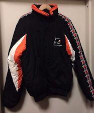 Vintage Philadelphia Flyers Men's Jacket Zip Up M Medium NHL 1990s Throwback