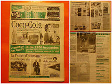 La vie du collectionneur 139-26/07/1996-Coca-Cola-France d'outre-mer en cartes