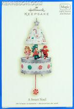 A Sweet Noel Hallmark Magic Light Motion Christmas Songs Keepsake Ornament 2008