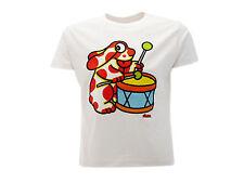 T-shirt Pimpa con Tamburo Bianca