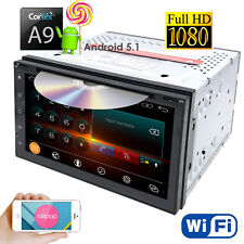 "4Core Android 5.1 3G WIFI 7"" Double 2DIN Car DVD Player Radio Stereo GPS Nav+Map"