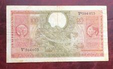 Belgique - Rare  et Joli Billet de 100 Francs 01-02-1943 - Type Londres