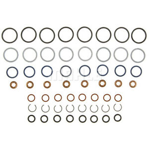 03-10 Ford 6.0 6.0L Powerstroke Diesel Mahle Fuel Injector O-ring Kits (8)