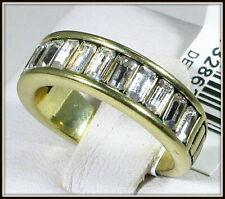 """HEIDI DAUS """"FULL OF POSSIBILITIES"""" CRYSTAL BAND RING - SIZE 10"""