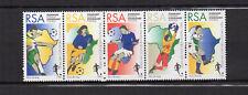 RSA Afrique du Sud South Africa Y&T N°896 à 900 une bande 5 timbres neufs/T3851