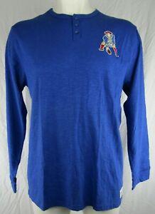 New England Patriots NFL Mitchell & Ness Men's Big & Tall Vintage Logo Shirt