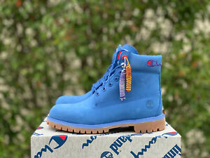 Timberland x Champion Supreme Kith CNCPTS Limited Rare Blue size 11
