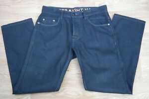 Next Men's Straight Grey Denim Jeans Size 30S  RRP £25.00