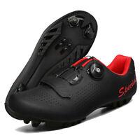 Lightweight Mountain Men's Cycling Shoes Bike Racing Road Sneakers Spin Peloton