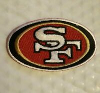 """(1) NEW 2"""" X 3.25"""" INCH SAN FRANCISCO 49ERS IRON ON PATCH ****FREE SHIPPING****"""