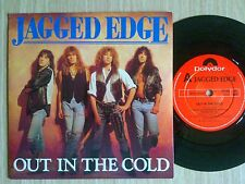 """JAGGED EDGE - OUT IN THE COLD - 45 GIRI 7"""" UK"""