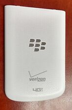 OEM Blackberry Q10 Standard Back Cover Battery Door - Verizon - White