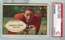 PSA7  1953 BOWMAN  FOOTBALL  CARD #17 CHARLEY TRIPPI