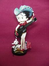 Betty Boop FIGURINE COUNTRY STAR RETIRED