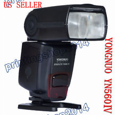 YONGNUO YN-560 IV Speedlite Flash Light For Canon Nikon Pentax Olympus DSLR Came
