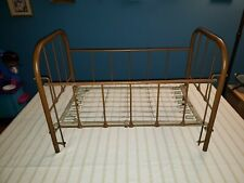 Rare 100 + Year Old Antique Iron Baby Crib